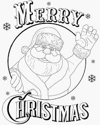 color with free fun christmas coloring pages eson me