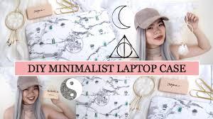 Minimalist Laptop Diy Back To Minimalist Laptop Case Youtube