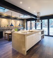kitchen benchtops kitchen contemporary with industrial kitchen