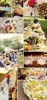 backyard wedding food outdoor furniture design and ideas