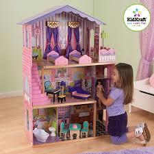 kidkraft my dream mansion dollhouse u0026 13 pieces of furniture