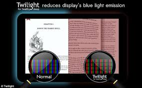 what is blue light filter bluelight app improve sleep by placing a crimson filter over your