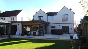 single storey contemporary extension to form new kitchen family