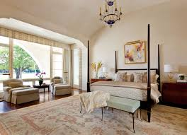 fern santini vaulted ceiling bedroom by austin based interior designer fern
