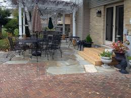 Bluestone Patio Designs by Flagstone Patio In Park Ridge Landscaping And Hardscaping Brick