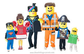 Lego Halloween Costumes Diy Lego Costumes Making Lego Bodies Fingerprints