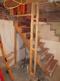 steep basement stairs adventures in remodeling house home refs