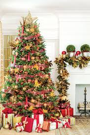 Christmas Trees Christmas Tree Ribbon Ideas Southern Living