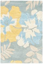 Yellow Area Rug Blue And Yellow Rug Rug Designs
