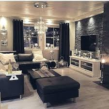 silver living room furniture living room with black couches black and silver living room