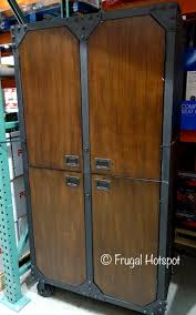 Costco Storage Cabinets Costco Whalen Industrial Metal And Wood Storage Cabinet 289 99