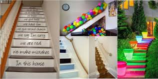 top 25 home stairs decorating diy projects ideachannels