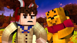 winnie the pooh halloween night minecraft roleplay 3 youtube