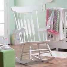 Rocking Chairs Nursery Belham Living Wood Nursery Rocker White Hayneedle
