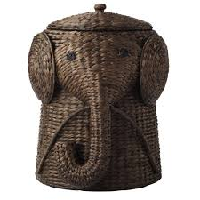 cute laundry hamper home decorators collection 18 in w animal laundry hamper in brown