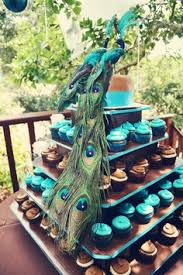 peacock wedding theme peacock theme cupcakes this reminds me of my prichard cousins