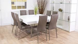 8 Seat Dining Room Table by Home Design Seater Square Dining Table For 8 People Topisela In