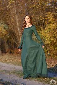 medieval green princess dress u201cautumn princess u201d garb ideas for