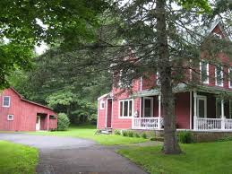 house and barn sold house and barn for 479 000 on 4 acres catskills real estate ny