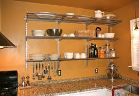 kitchen great reclaimed wood kitchen wall shelves glamorous