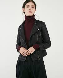 leather apparel women u0027s leather apparel jackets shoes comptoir des cotonniers