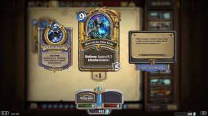 heartstone heroes of warcraft golden card uther of the ebon