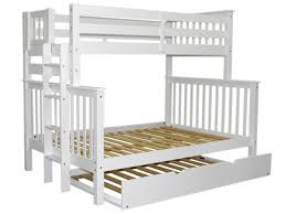 Bunk Beds Twin Over Full End Ladder White Trundle - Ladder for bunk bed