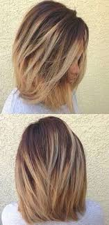 shoulder length hair with layers at bottom 80 sensational medium length haircuts for thick hair medium