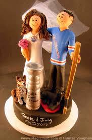 Wedding Cake Edmonton Wedding Cake Topper Of The Day New York Rangers And Edmonton