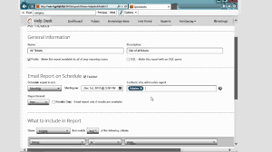 Spiceworks Help Desk by Spiceworks Schedule Report Youtube