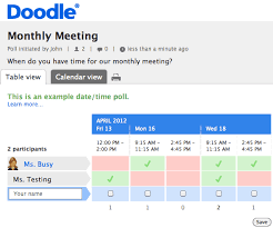 doodle poll tool free tools for scheduling your next meeting