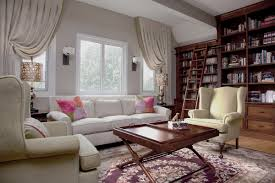 beautiful ideas for window curtains with square glass windows and