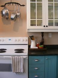 Kitchen With Only Lower Cabinets Teal Kitchen Cabinets Chic Design 14 Best 25 Turquoise Cabinets