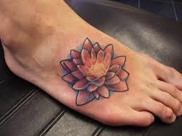 Flower Tattoo Designs On Feet - 37 lotus tattoos on foot