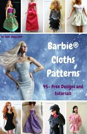 best 25 barbie sewing patterns ideas on pinterest free barbie