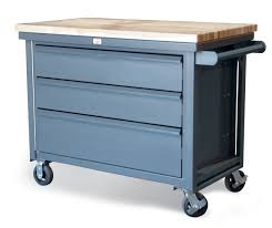 Kitchen Cart With Drawers by All Welded Steel Rolling Cart This Tool Cart Features 3 Full