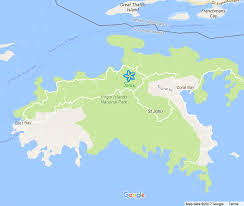 St Thomas Island Map Sarang