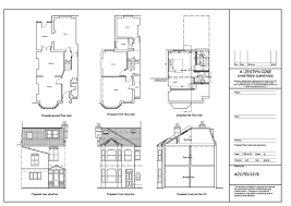 Loft Conversion Floor Plans by Architectural