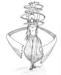 ribbon dancer indian ribbon dancer by leotao on deviantart
