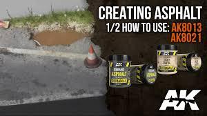 Asphalt How To Ak8013 U0026 Ak8021 Asphalt Terrain Part 1 Asphalt Youtube