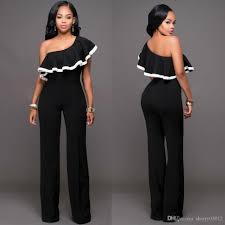 one jumpsuits 2018 clubwear jumpsuits overalls for ruffles one