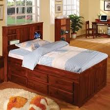 Bookcase Bed Frame Kaslyn Twin Bookcase Bed Wayfair