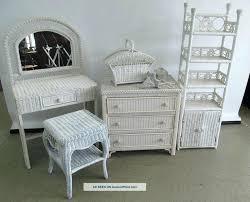 white wicker bedroom set wicker dresser with mirror fabulous white wicker bedroom furniture