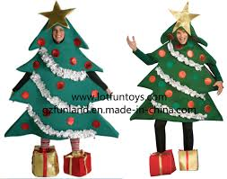 human christmas tree christmas lights decoration