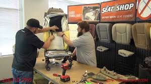 Dodge Ram Seat Upholstery Dodge Ram Bottom And Top Leather Install Youtube