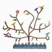 menorah tree of tree of menorah fair trade judaica ftj