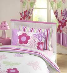 girls pink bedding girls reversible single duvet quilt cover bedding set pink lilac