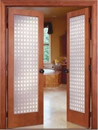 Frosted Glass Exterior Doors by 19 Prehung Interior French Doors With Frosted Glass As Great