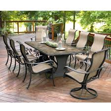 Iron Patio Table With Umbrella Hole by Patio Ideas Lowes Patio Furniture Sets Clearance Canada Patio