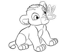 lion drawing kids colour drawing free wallpaper disney cartoon